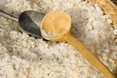 Het zout van het bad Stock Afbeeldingen