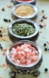 Het zout van Himalayan Royalty-vrije Stock Afbeelding