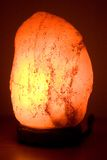 Het zoute lamp gloeien Stock Fotografie