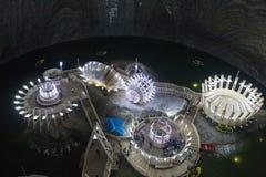 Het zoutmeer van Turda Royalty-vrije Stock Foto's