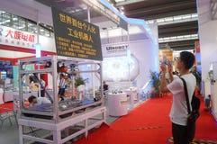 2016 het Zuidelijke de Automatiseringstentoonstelling van China Internationale Industriële Openen Royalty-vrije Stock Fotografie