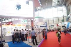 2016 het Zuidelijke de Automatiseringstentoonstelling van China Internationale Industriële Openen Stock Afbeelding