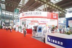 2016 het Zuidelijke de Automatiseringstentoonstelling van China Internationale Industriële Openen Stock Foto