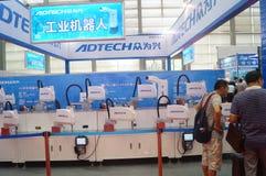 2016 het Zuidelijke de Automatiseringstentoonstelling van China Internationale Industriële Openen Royalty-vrije Stock Foto