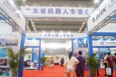 2016 het Zuidelijke de Automatiseringstentoonstelling van China Internationale Industriële Openen Royalty-vrije Stock Afbeeldingen