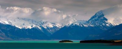 Het zuidelijke panorama van Alpen royalty-vrije stock foto's