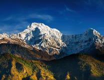 Het Zuiden van Annapurna stock foto's