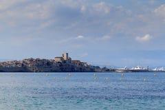 Het Zuiden van Antibes van Frankrijk Stock Afbeelding