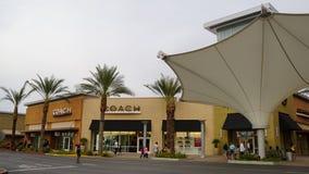 Het Zuiden van de de Premieafzet van Las Vegas in Nevada Stock Foto