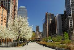 Het Zuiden van de promenade in New York Stock Foto's