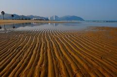 Het zuiden van het strand van Hua Hin Stock Fotografie