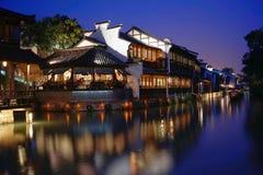 Het zuiden van lager bereikt van de Yangtze-Rivier royalty-vrije stock foto