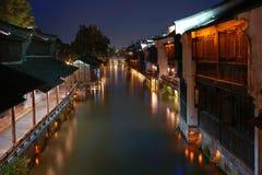 Het zuiden van lager bereikt van de Yangtze-Rivier stock fotografie