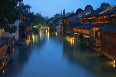 Het zuiden van lager bereikt van de Yangtze-Rivier royalty-vrije stock foto's