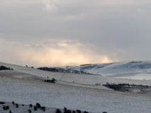 Het zuiden verslaat Nationaal Park in de winter Royalty-vrije Stock Fotografie
