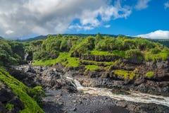 Het zuidenkust van Maui, Hawaï Stock Fotografie