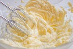 Het zwaaien van boter Royalty-vrije Stock Foto's