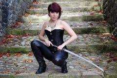 Het zwaard Stock Afbeelding
