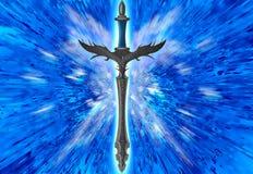 Het zwaard van de fantasie Stock Foto