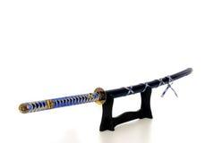 Het zwaard van de Samoeraien van Katana Stock Foto