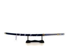Het zwaard van de Samoeraien van Katana Stock Afbeelding