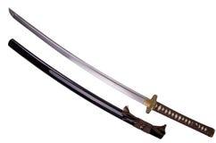 Het zwaard van Katana Stock Fotografie