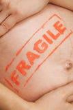 Het zwangere vrouw breien voor een baby Stock Afbeeldingen