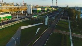 Het zware Complexe Panorama van de Residu's Diepe Verwerking stock footage