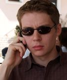 Het zware Gesprek Bedrijfs van de Telefoon Royalty-vrije Stock Afbeeldingen