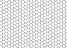 Het zwart-wit Patroon van de Hexuitdraaitegel vector illustratie