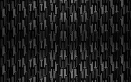 Het zwarte 3d metaal geeft achtergrond terug Stock Afbeelding
