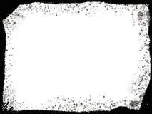 Het zwarte frame van Grunge Royalty-vrije Stock Foto's