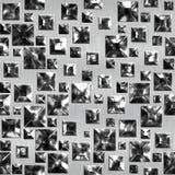 Het zwarte glas van de impregnatie Royalty-vrije Stock Foto's