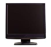 Het zwarte lcd scherm Royalty-vrije Stock Foto's