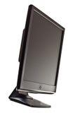 Het zwarte lcd scherm Stock Afbeeldingen