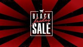 Het zwarte malplaatje van de vrijdagverkoop Royalty-vrije Stock Afbeeldingen