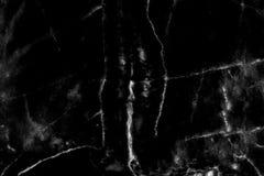 Het zwarte marmeren natuurlijke patroon voor achtergrond, vat natuurlijke ma samen Royalty-vrije Stock Foto