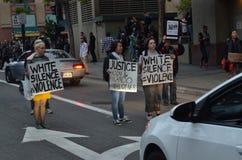 Het zwarte Protest van de het Levenskwestie stock foto's