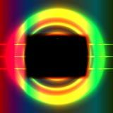 Het zwarte scherm Stock Afbeelding