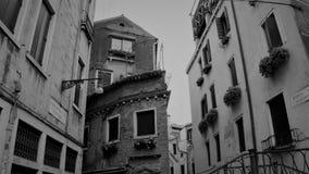 Het Zwarte Wit van Venetië Stock Fotografie