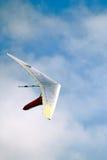 Het zweefvliegtuig van de hand Stock Foto