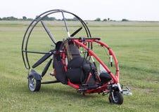 Het zweefvliegtuig van de motor met propeller - RUW formaat royalty-vrije stock foto