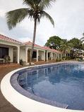 Het zwembad Nicaragua van de oneindigheid Stock Foto's