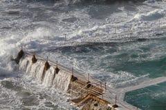 Het zwembad van Bondi Stock Foto