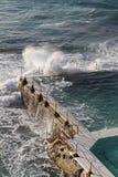 Het zwembad van Bondi Stock Afbeelding