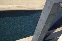 Het zwembad van de avantgarde stock fotografie