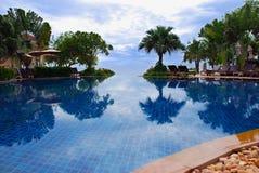 Het zwembad van de luxe Royalty-vrije Stock Foto