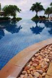 Het zwembad van de luxe Stock Fotografie