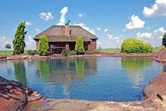 Het Zwembad van de Stijl van de rots royalty-vrije stock afbeelding