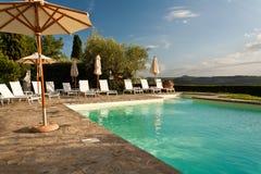 Het Zwembad van de vakantie Royalty-vrije Stock Foto's
